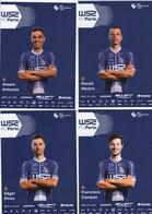 CYCLISME: CYCLISTE : EQUIPE W52 PORTO 2020 COMPLETE - Cycling