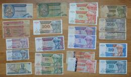 Lot Billets Afrique - Zaïre - Zaire