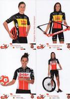 CYCLISME: CYCLISTE : EQUIPE FEMININE LOTTO SOUDAL 2020 COMPLETE - Cyclisme
