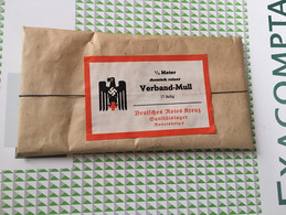 Grand Paquet De Bandage Allemand Ww2 Militaria Original 39-45 - 1939-45