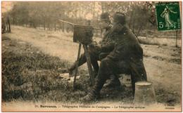 92 - SURESNES - Télégraphe Militaire De Campagne - La Télégraphie Optique - Suresnes