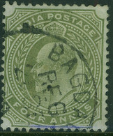 IRAQ INDIA 1911? KEVII 4a SG Z47 Used In Baghdad - Iraq