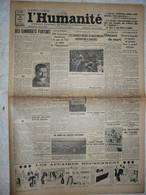 Journal Humanité Parti Communiste 26 Aout 1934 Staline Coblence Bulgarie Japon PTT Sportif Soviétique - Andere