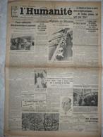 Journal Humanité Parti Communiste 17 Aout 1934 Japon Ensisheim Moscou Vienne Constantine Hindenbourg Leforest - Andere