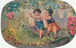 Malaga Petit Decoupi Jose Galan Malaga 11 X 7 Cm - Unclassified