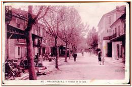 04  - ORAISON - Avenue De La Gare - Sonstige Gemeinden