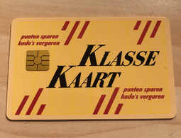 Klasse Kaart Loyalty Card Pays-Bas Rare - Ausstellungskarten