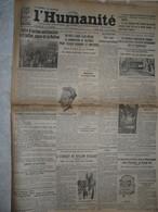 Journal Humanité Parti Communiste 7 Juillet 1934 Amsterdam Antifasciste Nation Prefet Villey Staviski Bonnaure Barthou - Andere