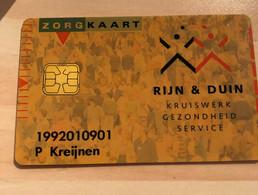 Rijn En Duin Health Card Pays-Bas Rare - Ausstellungskarten