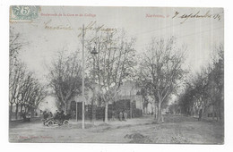 Narbonne Les Boulevards De La Gare Et Du Collège - Narbonne
