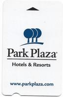 Park Plaza Hotels & Resorts, Used Magnetic Hotel Room Key Card, # Parkplaza-3 - Hotelkarten