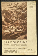 Buvard Publicitaire Laboratoire De La SEROGLOBINE Avignon - Brantes Et Le Mont Ventoux - Produits Pharmaceutiques