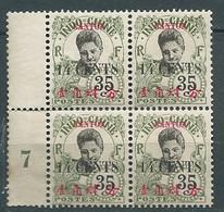 CANTON YVERT N° 76 (*)   Bloc De 4 Millesime 7 , Ai29901 - Unused Stamps
