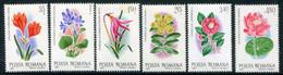 ROMANIA 1980 Flowers From The Botanic Garden MNH / **.  Michel 3721-26 - Ungebraucht