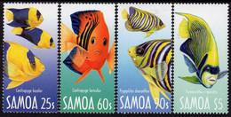Samoa - 2003 - Angelfish - Emperors Of The Reef - Mint Stamp Set - Samoa