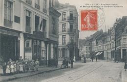 Lille EC 124 Rue St André Et Maison Ou Naquit Le General Faidherbe Beau Plan TBE - Lille