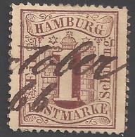Hamburg Michel Nummer 11 Gestempelt - Hamburg (Amburgo)