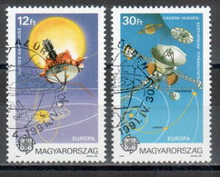 Ungarn / Hungary / Hongrie 1991 Satz/set EUROPA Gestempelt/used - Europa-CEPT