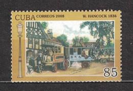 Sale - Cuba 2008 Steam Bus  (MNH)  - Bus - Bus