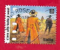 ITALIA REPUBBLICA USATO 2018 - Cinema Italiano - C'era Una Volta Il West - Tar. B - S. 3843 - 2011-...: Used
