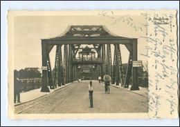 V479/ Rendsburg Drehbrücke Foto AK 1937 - Rendsburg
