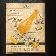 Protège-cahier - Publicité Huile LESIEUR - Imprimeur Navarre Et Cie - Produits Pharmaceutiques