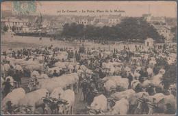 Le Creusot , La Foire Place De La Molette , Animée - Le Creusot