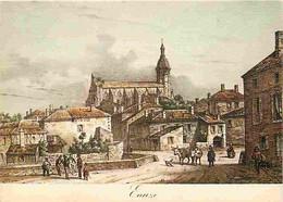 32 - Eauze - Images Du Passé - D'après Une Gravure D'époque - Gravure Lithographie Ancienne - Carte Neuve - CPM - Voir S - Sonstige Gemeinden