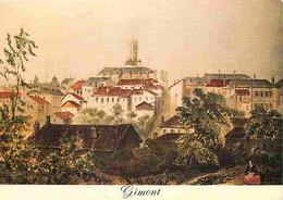 32 - Gimont - Images Du Passé - D'après Une Gravure D'époque - Gravure Lithographie Ancienne - CPM - Voir Scans Recto-Ve - Sonstige Gemeinden