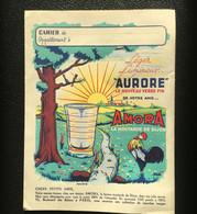 Protège-cahier - Publicité Moutarde AMORA - TBE - Produits Pharmaceutiques