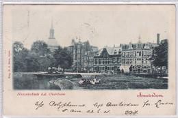 Amsterdam  Nassaukade B.d. Overtoom Koepelkerk Levendig # 1901    2412 - Amsterdam