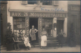 Carte Photo , Nancy , Aux Trois Mousquetaires , Restaurant , Café , Bar , 50 Rue Saint Nicolas , Animée - Nancy