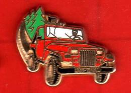 Pin's Jeep Texan Rouge  Zamac Arthus Bertrand - Arthus Bertrand