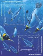Fsat 2019 Taaf King Penguin Manchot Royal Königspinguin Königspinguin 企鵝王  Ms2v Mnh - Neufs