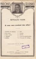 Partition :  Mélodies Célèbres : Reynaldo Hahn     /// Oct. 20 - Noten & Partituren
