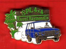 Pin's Range Rover SPL 4X4 Raoul Raymondis  Zamac Arthus Bertrand - Arthus Bertrand