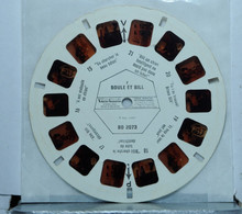 VIEW MASTER  :   BOULE ET BILL   BD 2073 - Stereoscopes - Side-by-side Viewers