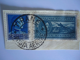 ALBANIA STAMPS WITH POSTMARK - Albanien