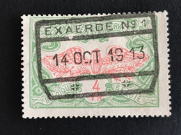 TR45 Gestempeld EXAERDE N°1 - 1895-1913