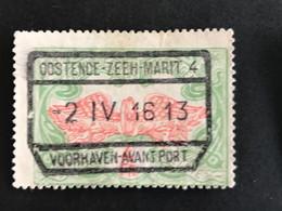 OOSTENDE-ZEEH.MARIT.2 VOORHAVEN - AVANT PORT - 1895-1913
