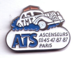 VP155 Pin's Citroën TRACTION RARE ASCENCEURS ATS Achat Immédiat - Citroën