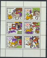 DDR 1971 / MiNr.  Kleinbogen 1717 - 1722     ** / MNH  (s420) - Bloques