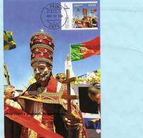 PORTUGAL - FESTIVITIES SÃO PEDRO MONTIJO RELIGION MAXIMUM CARD - Maximumkaarten