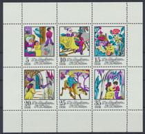 DDR 1972 / MiNr.  Kleinbogen 1801 - 1806     ** / MNH  (s421) - Bloques