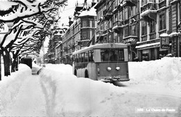 La Chaux-de-Fonds -  Hiver Neige - Bus 2 - NE Neuenburg