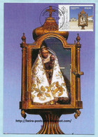 PORTUGAL - FESTIVITIES OUR LADY OF CABO ESPICHEL RELIGION MAXIMUM CARD - Maximumkaarten