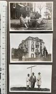 Rigi-Scheidegg/ Hotel/ Leute 3 Fotos Juli 1930 - Luoghi