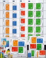CEPT 2006 Armenia 545/8,VB,Kleinbogen+Block 24 ** 36€ Topic Stamp Of Stamps M/s Bloc Ss Sheetlet Bf 50 Years EUROPE - Armenia