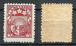 LETTLAND Latvia 1927 Michel 119 MNH - Lettland