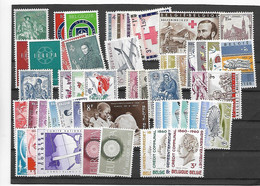 België Volledige Reeksen  Xx Postfris Cote 106 Euro - Nuevos